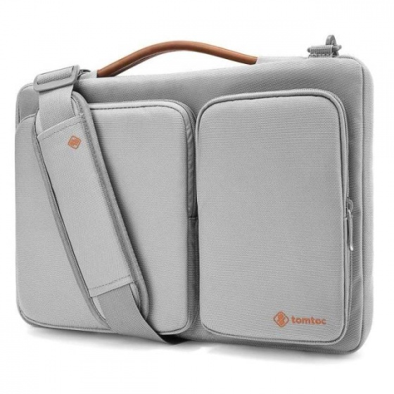 Túi đeo TOMTOC (USA) 360 Shoulder Bags Macbook 15in  Silver