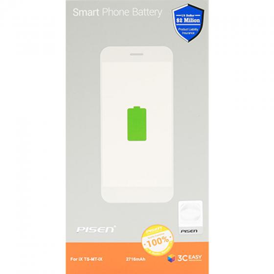 Pin điện thoại Pisen dành cho iphone X