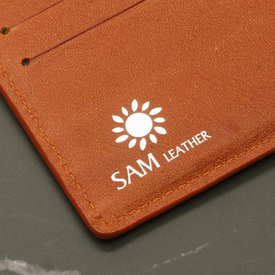 Ví da nam - ví nam da bò Sam Leather SAM014 ví nam hàng chính hãng bảo hành 1 năm