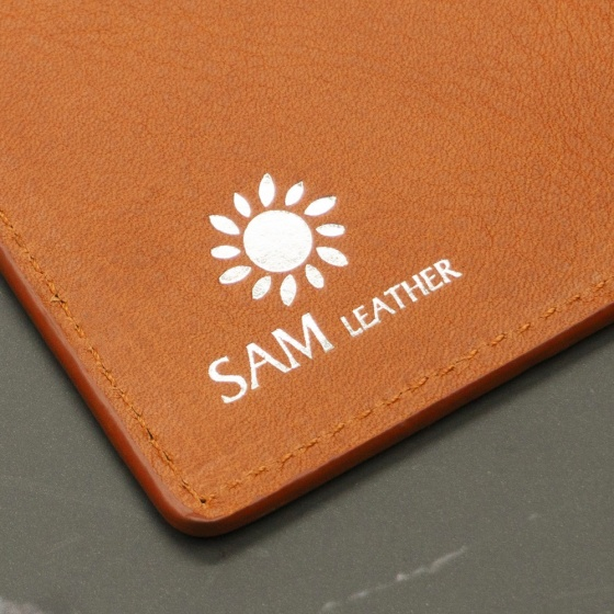 Ví nam da bò Sam  Leather SAMDCL011 - ví da nam hàng chính hãng bảo hành 1 năm