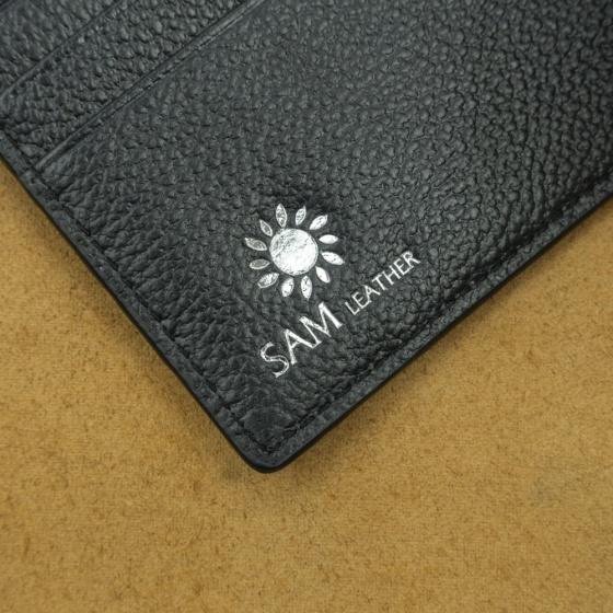 Ví nam da bò Sam Leather VNVCS004 - ví da nam hàng chính hãng bảo hành 1 năm