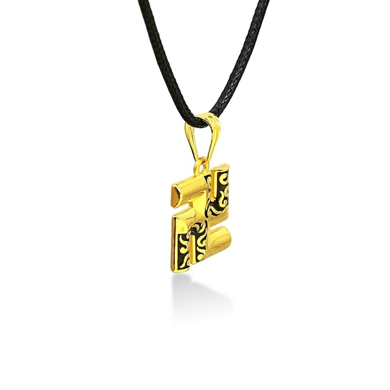 Mặt dây chữ Vạn vàng 24k DOJI FP60695-02