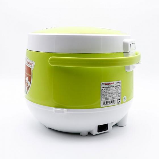 Nồi cơm điện Nagakawa NAG0101 - 1.8 lít - hàng chính hãng - bảo hành 12 tháng trên toàn quốc - màu ngẫu nhiên