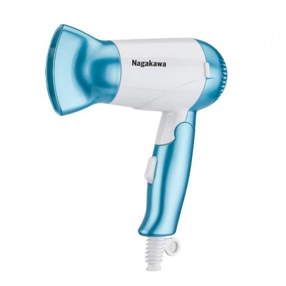 Máy sấy tóc Nagakawa NAG1601 - 1000w - hàng chính hãng - bảo hành 12 tháng trên toàn quốc - màu ngẫu nhiên