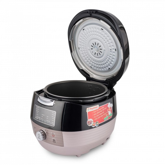 Nồi áp suất điện tử đa năng 5 lít Nagakawa NAG0201- nhiều màu - hàng chính hãng