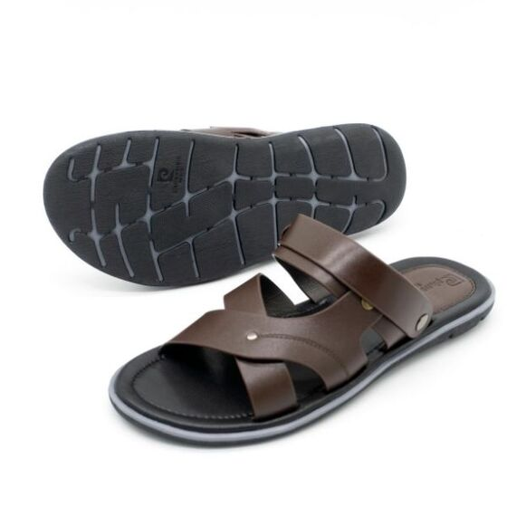 Sandal nam cao cấp Pierre Cardin PCMFWLE132BRW màu nâu