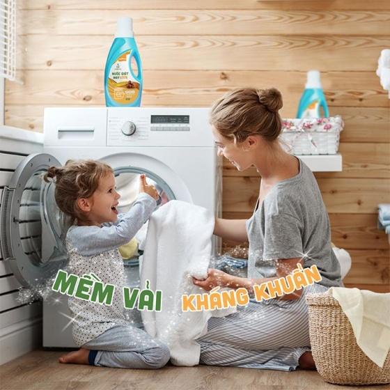 Nước giặt tay chiết xuất Bồ Hòn 1000ml JULYHOUSE