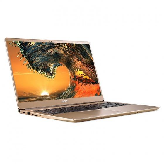 Máy tính xách tay Acer Swift SF315-52-38YQ Core i3-8130U Vàng - Luxury Gold