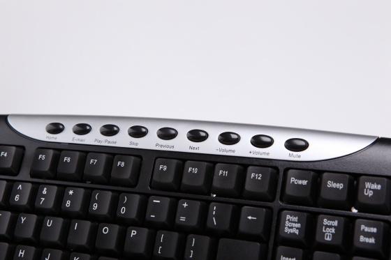 Bàn phím đa phương tiện Texet KB-618R - Bảo hành 1 năm
