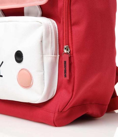 Balo BeddyBear thỏ Pipi-đỏ-BJX-XS-001-DO