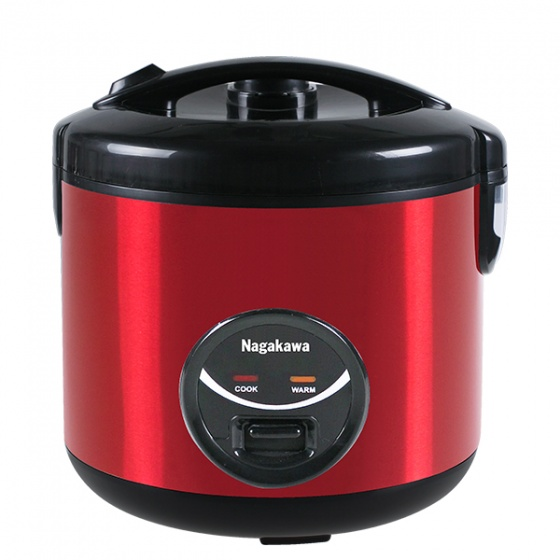 Nồi cơm điện nắp gài Nagakawa NAG0117 - 1.8 lít - hàng chính hãng - bảo hành 12 tháng