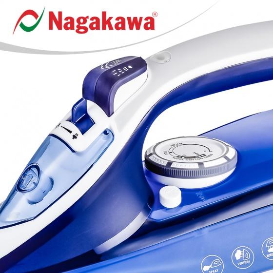 Bàn là hơi nước Nagakawa NAG1505 - 1200w - hàng chính hãng