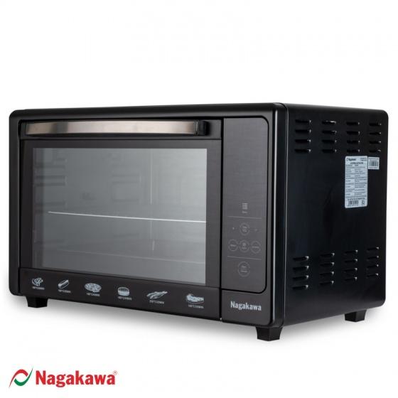 Lò nướng Nagakawa 48 lít NAG3248A - cảm ứng điện tử- hàng chính hãng