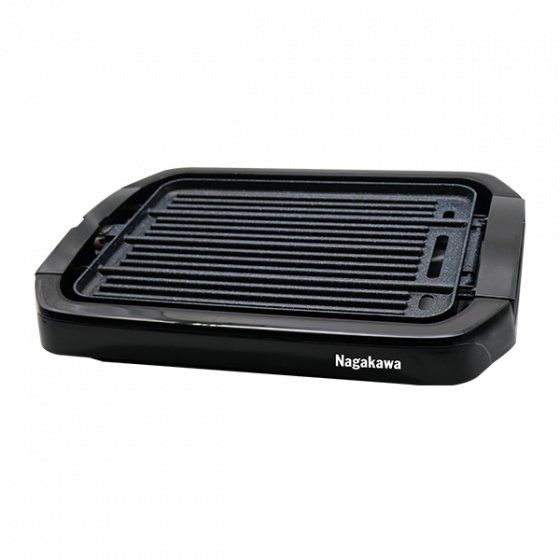 Bếp nướng điện 2 mặt Nagakawa NAG3102 - 1800w - Tặng máy xay NAG0801 - hàng chính hãng
