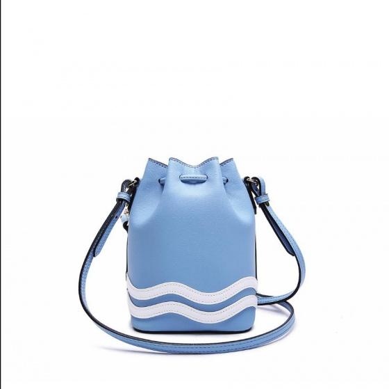 Túi bucket mini Venuco Madrid S364 màu xanh da trời