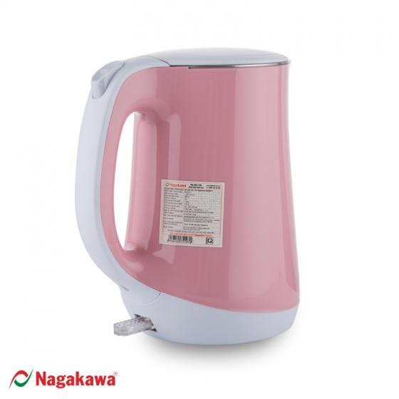 Ấm siêu tốc Nagakawa NAG0311 - 1.8 lít - hàng chính hãng - bảo hành 12 tháng