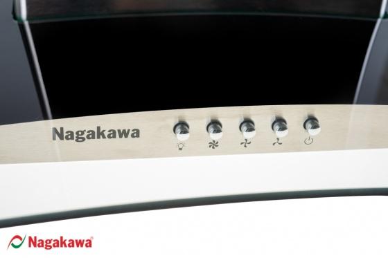 Máy hút mùi nagakawa kính cong NAG1852-70C - bảo hành 12 tháng - hàng chính hãng