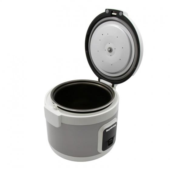 Nồi cơm điện 1.8l nagakawa NAG0132 - công nghệ ủ ấm 3 chiều - bảo hành 12 tháng - hàng chính hãng