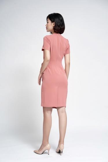 Đầm ôm vạt lệch - SDC20026
