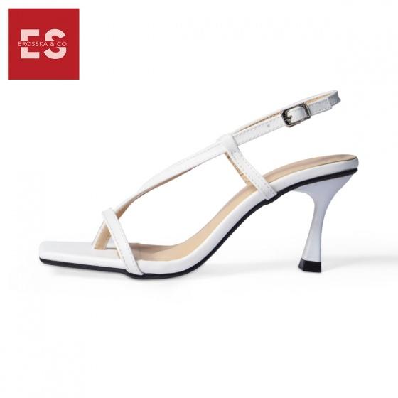 Giày cao gót Erosska thời trang phối dây gót nhọn kiểu dáng xỏ ngón cao 7cm BM005