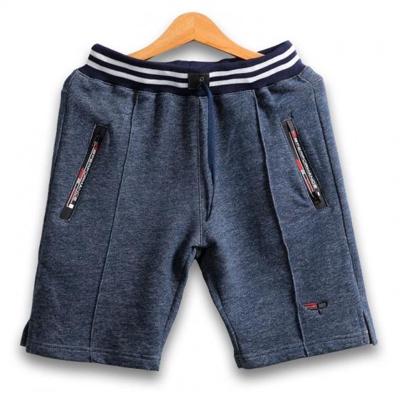 Set 3 quần short thể thao nam basic màu sắc độc quyền pigo fashion qttn07 xanh công xanh navy xám