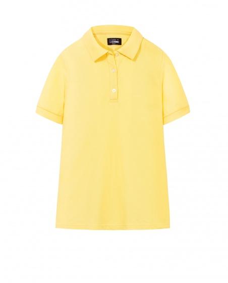 Áo polo nữ The Cosmo TERRIE POLO SHIRT màu vàng TC2002041YE