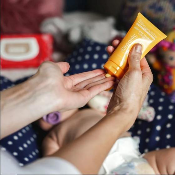 Kem dưỡng da chuyên sâu hữu cơ Organic intensive soothing cream Little Innoscents 75ml