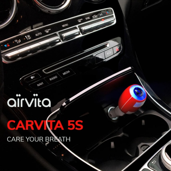 Combo Khử trùng diệt khuẩn Airvita 5S và Capsule (Nhập khẩu, bảo hành chính hãng)