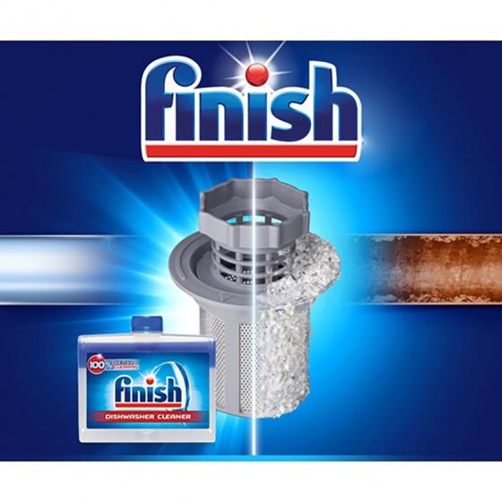 Dung dịch tẩy rửa máy rửa chén Finish Dishwasher Cleaner 250ml QT017386