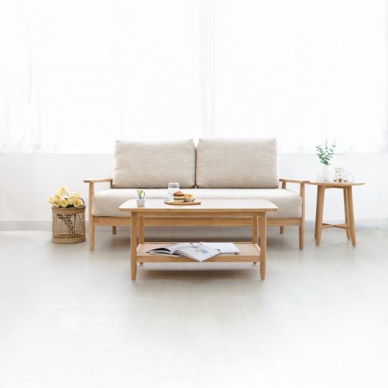Bàn sofa bàn cafe gỗ gồi MOHO MILAN 902