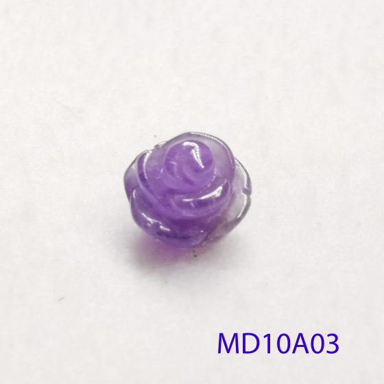 Mặt đá hoa hồng thạch anh tím MD10A03