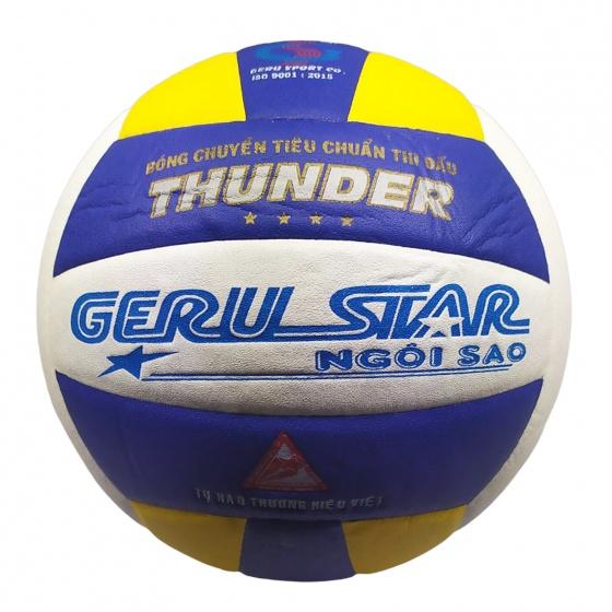 Bóng chuyền dán Gerustar Số 5 - Thunder (4 sao)
