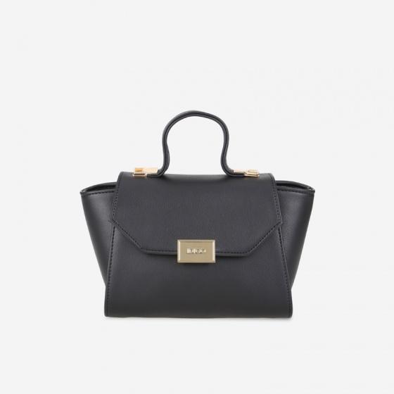 Túi xách tay và đeo chéo nữ nắp gập khóa kim loại thanh lịch IDIGO FB2-4101-00