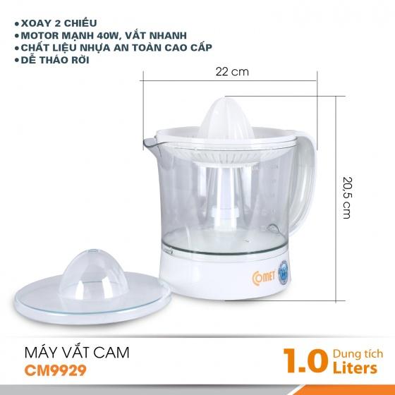 Máy vắt cam COMET - CM9929 - 1000m