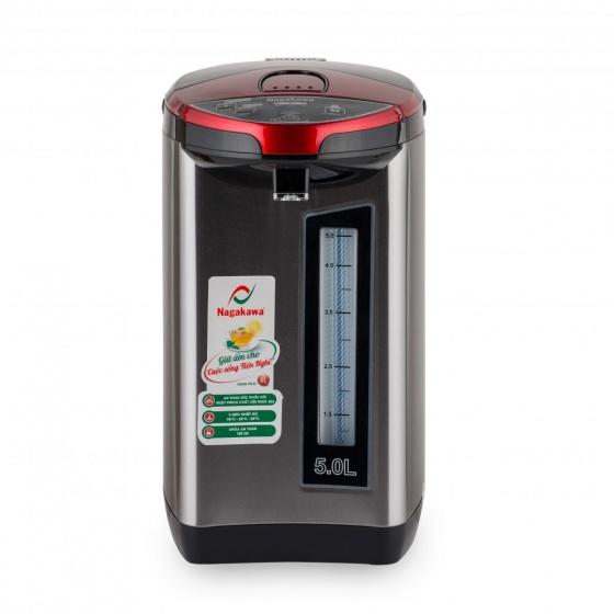Bình thủy điện 5 lít Nagakawa NAG0405 - 750w 3 mức nhiệt - hàng chính hãng