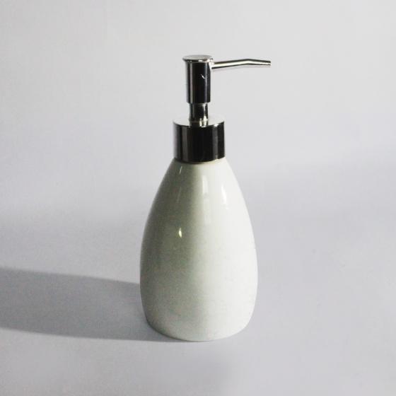 Combo 05 Bình sứ đựng nước rửa tay, dầu gội, sữa tắm 180-300 ml bằng sứ dáng bầu (Nhiều màu)