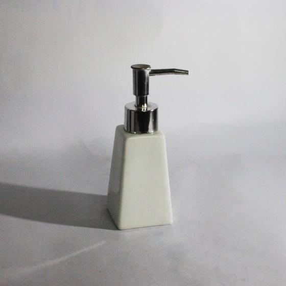 Bình đựng dầu gội sữa tắm hình thang bằng sứ cao cấp - gốm sứ Hải Long