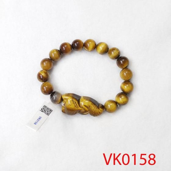 Vòng tay phối hồ ly đá mắt hổ VK0158