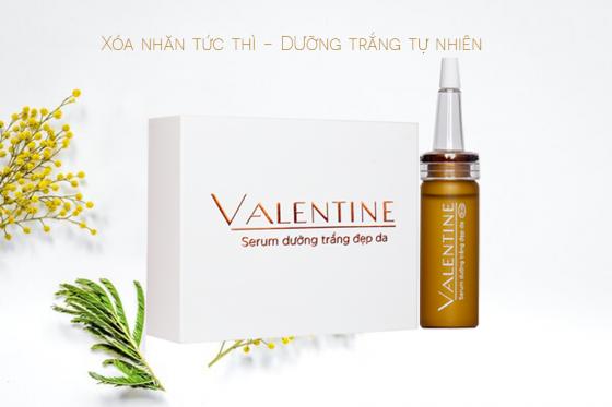 Serum dưỡng trắng đẹp da Valentine