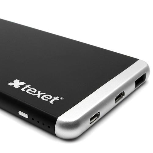 Pin sạc dự phòng Quick Charge 3.0 11000 MAh kèm cổng USB Type C TEXET PB11000