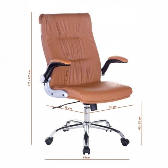 Ghế Trưởng phòng IB344 tay điều chỉnh chân ngoại nhập - IBIE