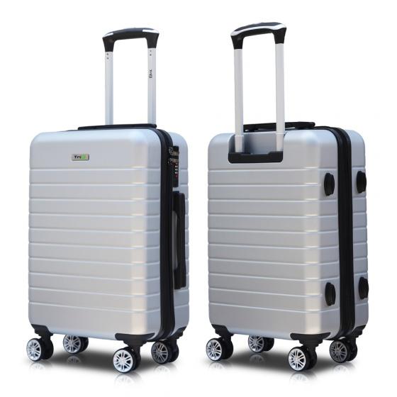 Vali du lịch Trip PC911 Size 70cm 28 inch xám bạc (tặng gối cổ)