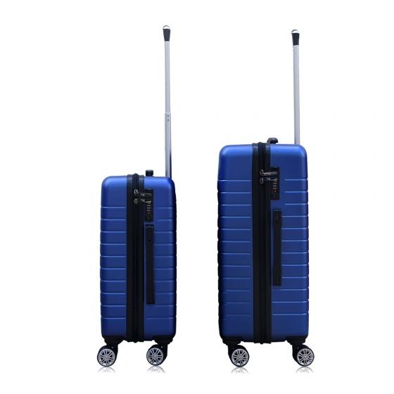 Combo 2 vali du lịch Trip PC911 size 50cm+60cm xanh dương (tặng 2 gối cổ)