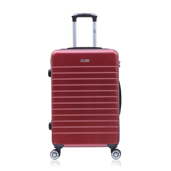 Combo 2 vali kéo Trip PC911 size 50cm+60cm màu đỏ (tặng 2 gối cổ)