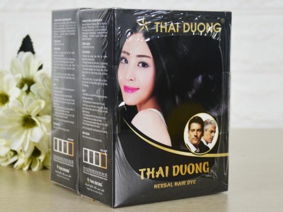 Nhuộm tóc dược liệu Thái Dương (Hộp 5 gói nhỏ) - Mua đơn hàng 300k có quà tặng