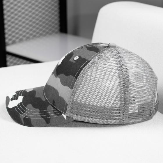 Nón kết, mũ lưỡi trai lưới camo cao cấp unisex Non0607, kết cấu đơn giản, màu sắc đa dạng, kiểu dáng năng động