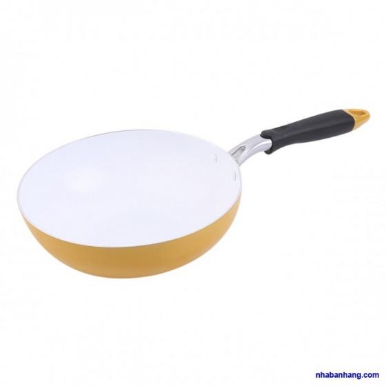 Chảo sâu Ceramic Honey'S HO-ADF1C241 - 24cm (giao màu ngẫu nhiên)