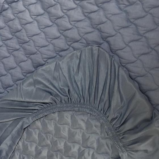 Ga chun trần cotton Grand - 200 x 220 - Xanh