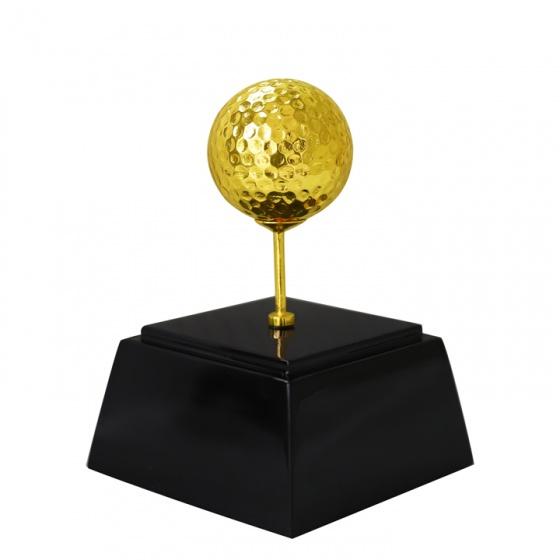 Quà Bóng Golf mạ vàng 24K