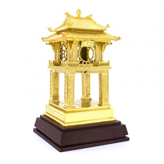 Mô hình Khuê Văn Các mạ vàng 24K - KVC04